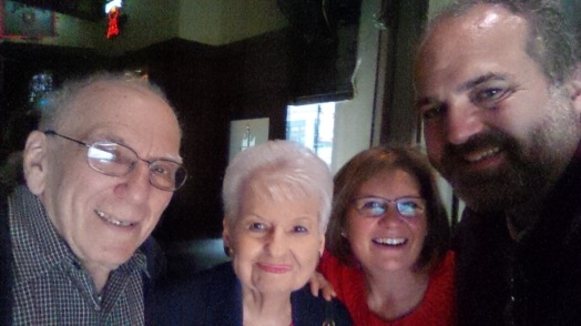 During a 2014 visit to Chicago with Lee and Sol Yates.