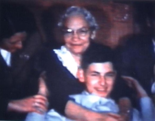 Young Jack Segal with his Grandmother Bertha
